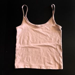 Forever 21 basic tank top blush pink